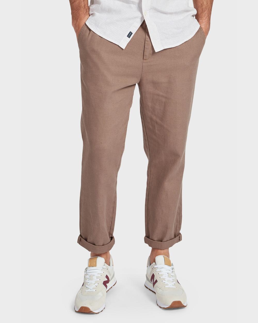 Academy Brand Standard Beach Pant Cargo Pants Brown