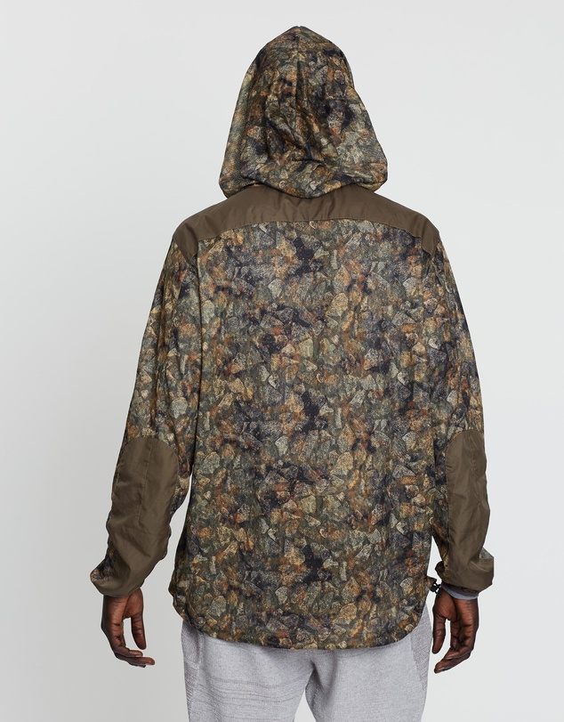 snow peak - Printed Insect Shield Parka