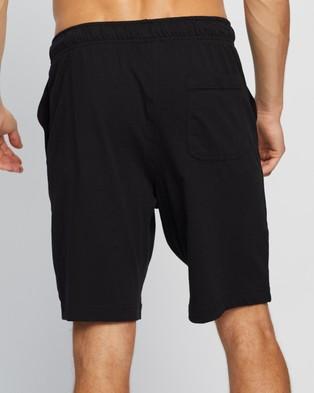 Nike Sportswear Club Stretch Shorts - Shorts (Black & White)