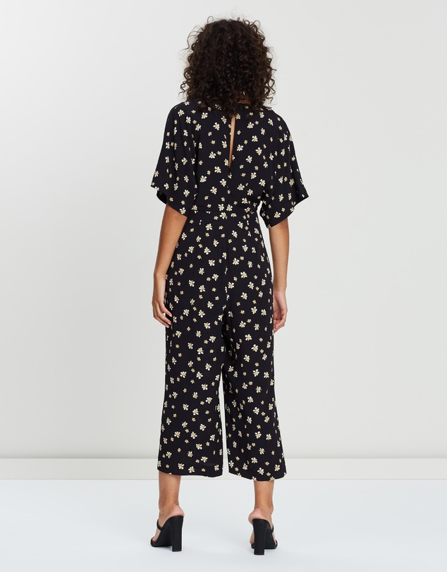 3a57ac6b02d Edelweiss Print Button Jumpsuit by Whistles Online