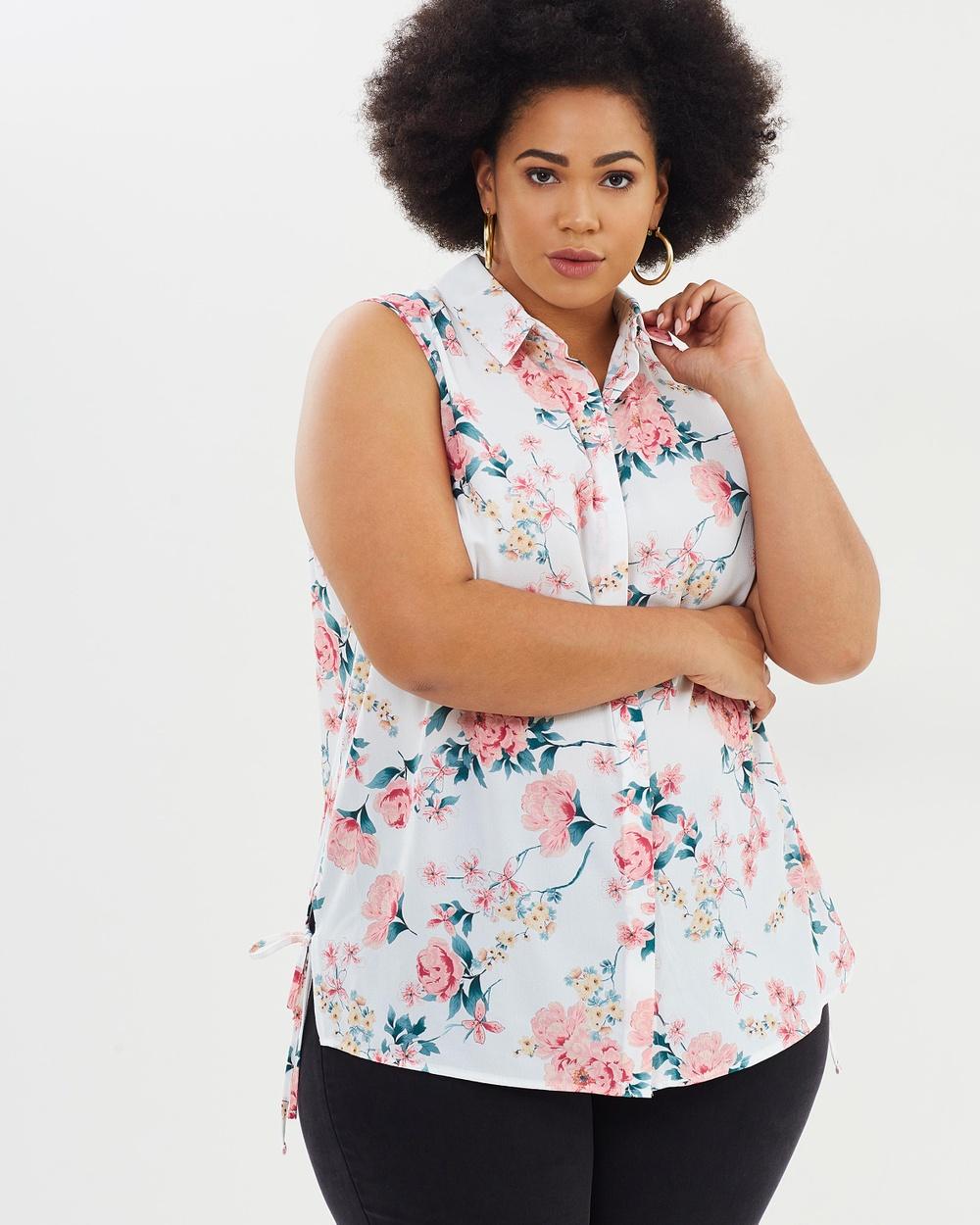 DP Curve Orient Shirt Tops Blush Orient Shirt