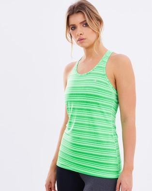 Champion – Vapor Stripe Tank – Muscle Tops (Neon Green Light)