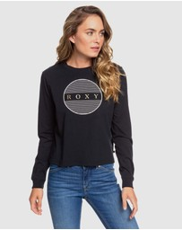 Roxy - Womens This Is Cool Cropped Long Sleeve T Shirt