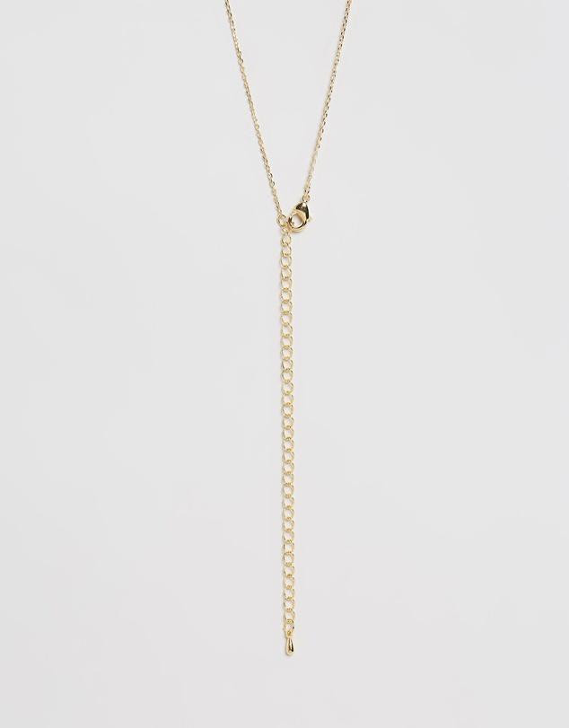Women Letter Necklace - P
