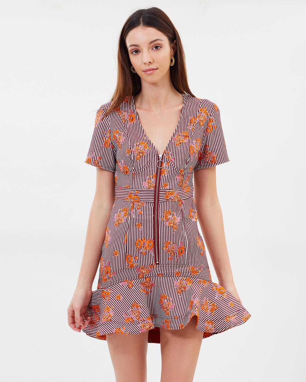 db12c1f4bb66 Fixation Mini Dress by C MEO COLLECTIVE Online