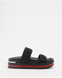 DKNY - Double Band Slides