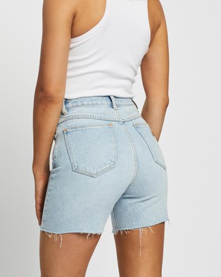 Abrand A Claudia Cut Offs Denim Gina