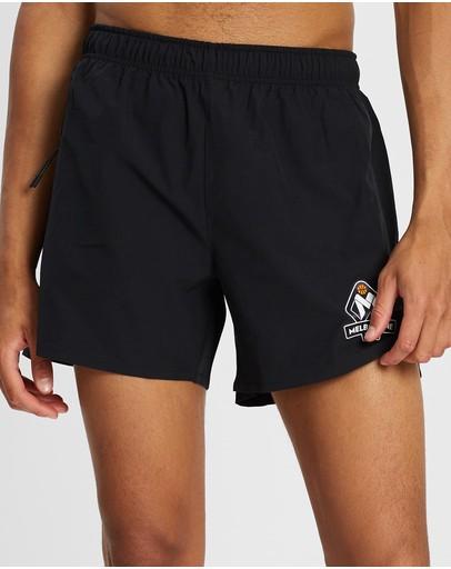 First Ever - Nbl Melbourne United Gym Shorts Black