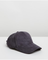 Running Bare - Clear Bear Suede Cap
