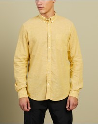 Norse Projects - Osvald BD Cotton Linen Classic Shirt