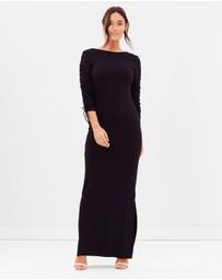 Dorothy Perkins - Ruched Maxi Dress