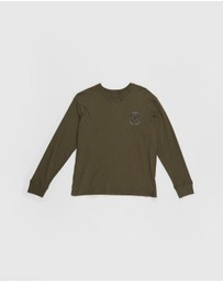 Free by Cotton On - Rufus Long Sleeve Tee - Teens