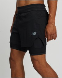 New Balance - Q Speed Fuel 2-In-1 5 Inch Shorts