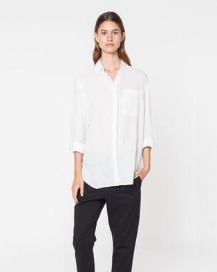 Assembly Label – Xander Shirt White