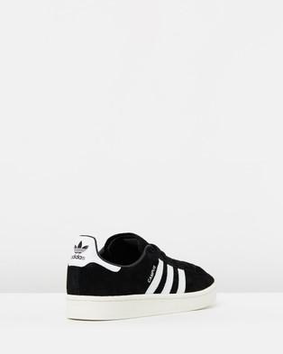 adidas Originals Campus   Unisex - Lifestyle Sneakers (Core Black, FTWR White & Chalk White)