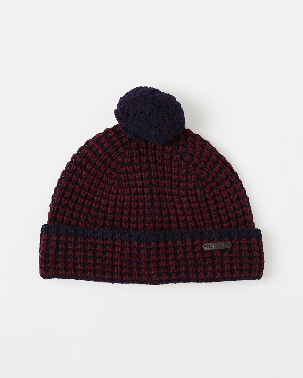 d3117b5342f Knitted Beanie Hat by Ted Baker Online