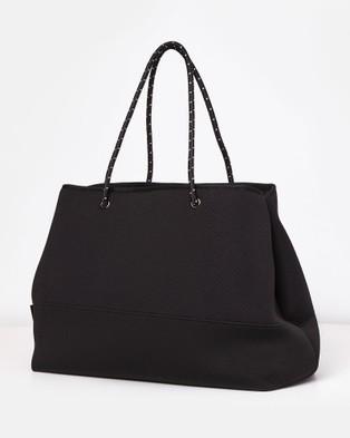 Miz Casa and Co Ivy Neoprene Tote Bag - Bags (Black)