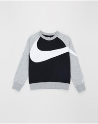 Nike - French Terry Crew Sweater - Kids