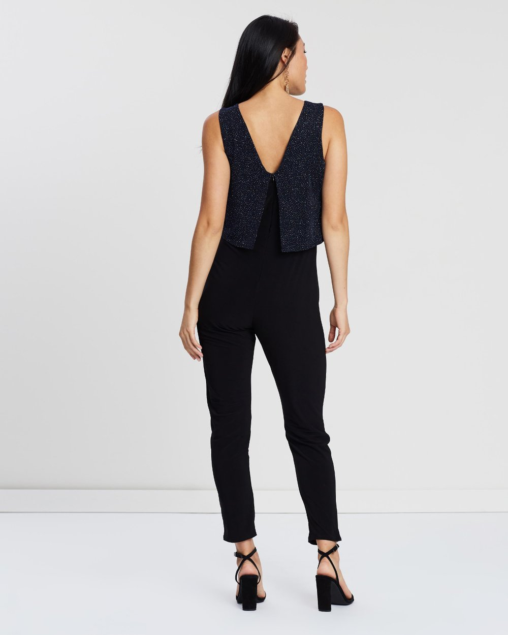 cc0e4ff5acde Lurex Double Layer Jumpsuit by Dorothy Perkins Online