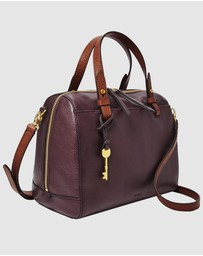 Fossil - Rachel Purple Satchel Bag