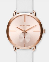 Michael Kors - Portia White Chronograph Watch