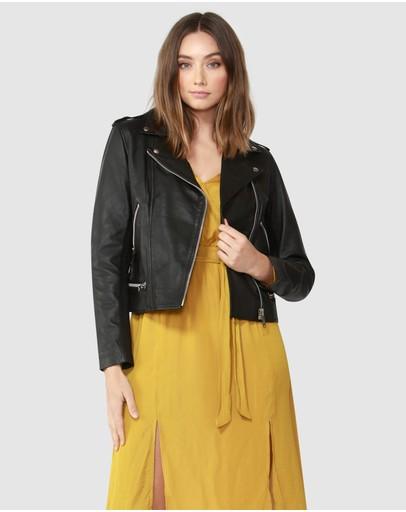 7ce0fa1ac Leather Jackets | Buy Womens Jackets Online Australia- THE ICONIC