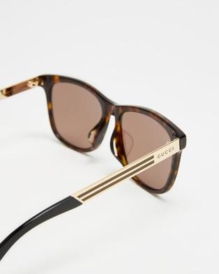 Gucci GG0695SA002 - Sunglasses (Havana)