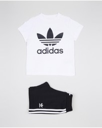 adidas Originals - Unisex Short Tee Set - Kids