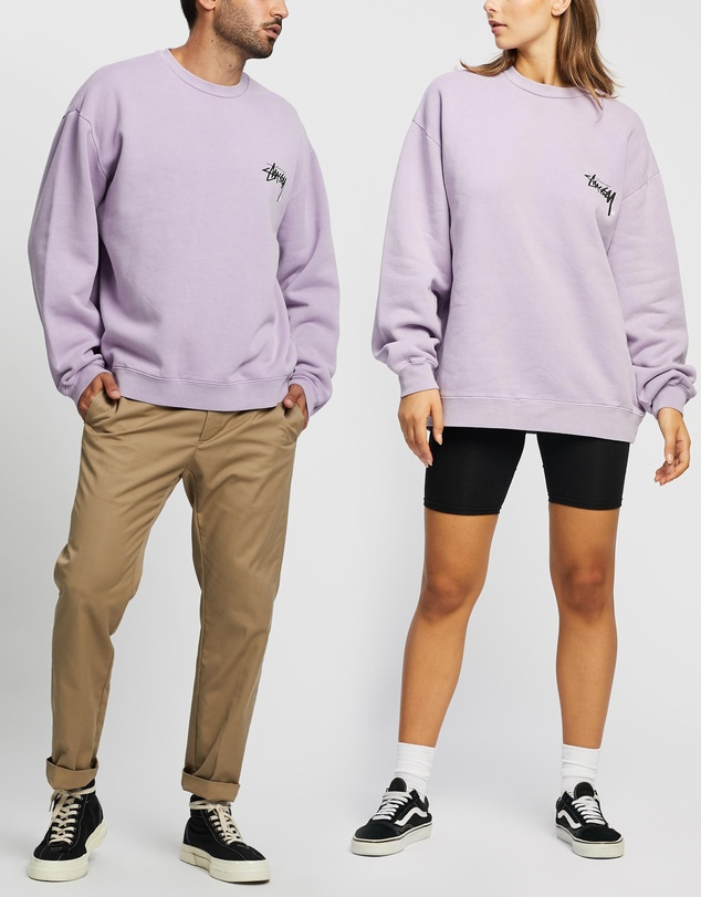 Stussy - Stock Shadow Crew - Unisex