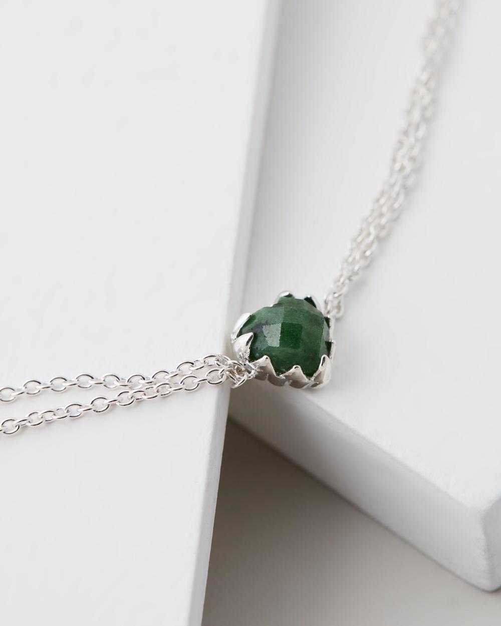 Stolen Girlfriends Club Love Claw Bracelet Jewellery Green