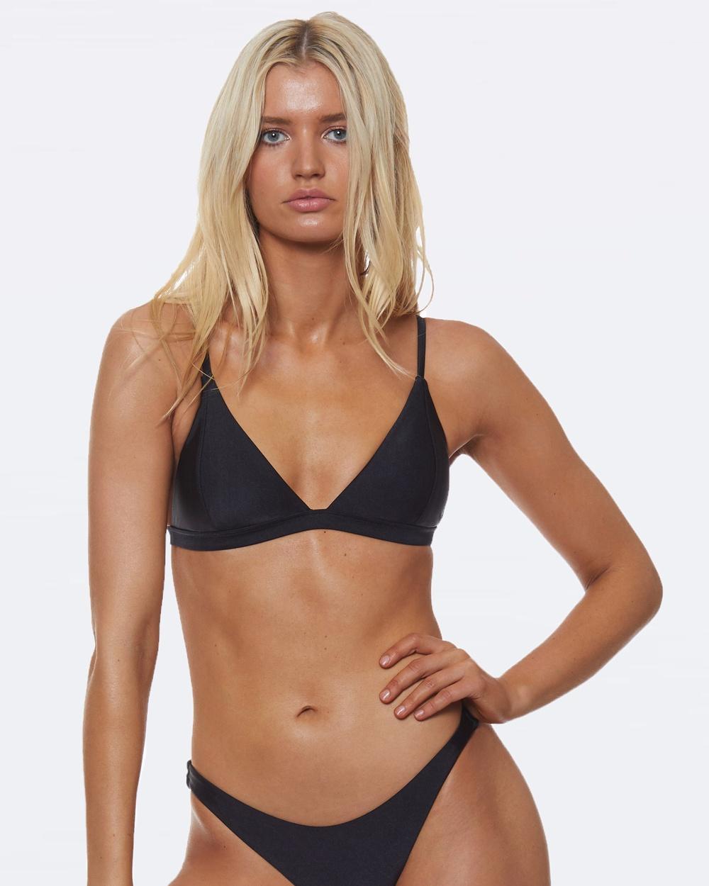 L'urv She Shimmers Bikini Top Bikini Set Black She Shimmers Bikini Top