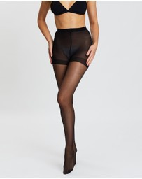 The Legwear Company - 2-Pack 20 Denier Support Tights