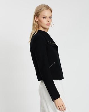 Marcs Lani Felted Wool Jacket - Coats & Jackets (BLACK)