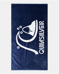 Quiksilver - Mens Logo Beach Towel