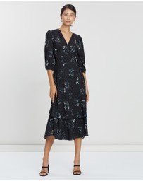 Cooper St - Meghan Tie Waist Layered Dress