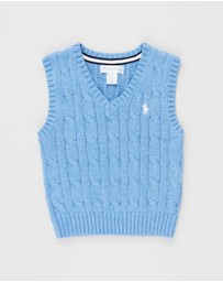 Polo Ralph Lauren - Combed Cotton Cable Vest - Babies