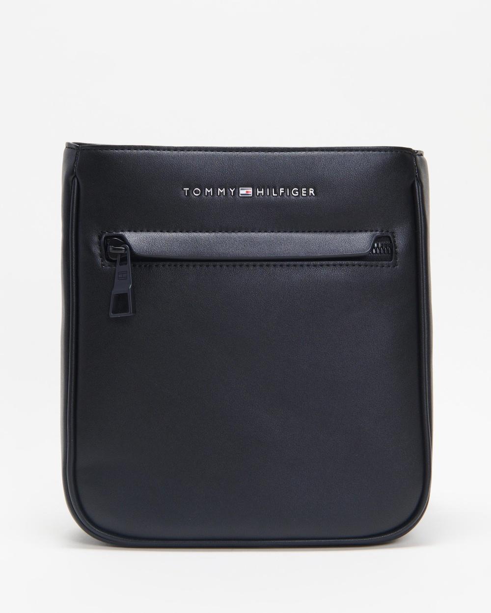 Tommy Hilfiger Metro Mini Crossover Bags Black Australia