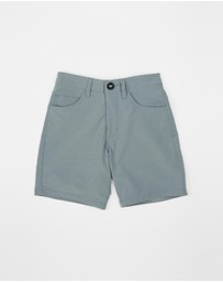 Rip Curl Kids - Access Twill Boardwalk Shorts - Teen