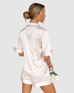 Modern Romantique Aubrey Pyjama Set - Two-piece sets (Blush)