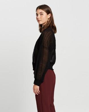 M.N.G Marion T Shirt - Tops (Black)
