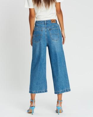 Lee High Wide Jeans - Crop (Blaze)