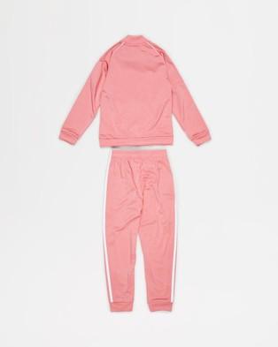 adidas Originals Adicolor SST Tracksuit   Kids - Sweatpants (Hazy Rose & White)