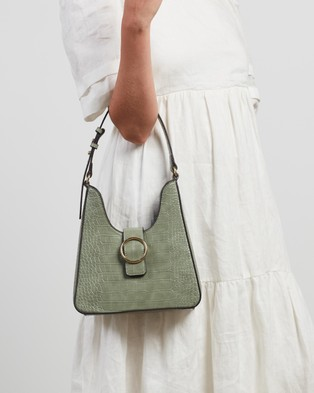 M.N.G Fenix - Handbags (Green)