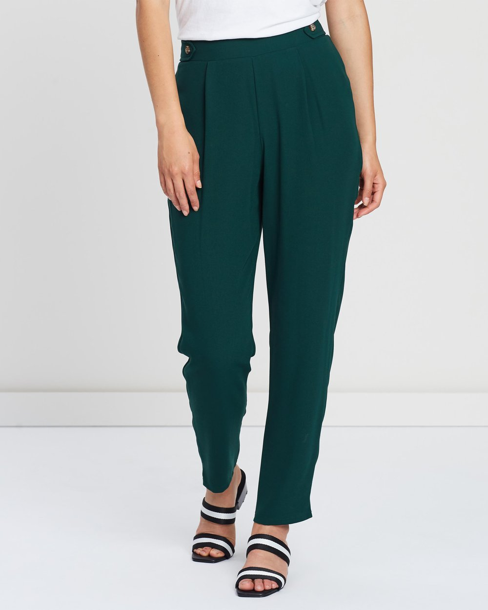 585482238d Horn Button Trousers by Dorothy Perkins Online