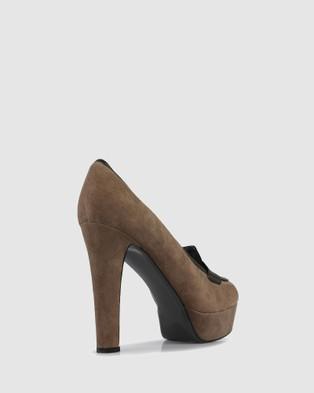 S by Sempre Di Nusia Heels - Heels (BEIGE-010)