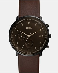 Fossil - Chase Timer Brown Chronograph Watch
