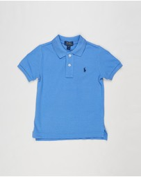 Polo Ralph Lauren - Basic Mesh Knit Polo Top - Kids