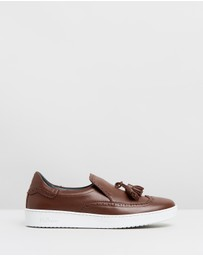 Tassel Slip-On Sneakers