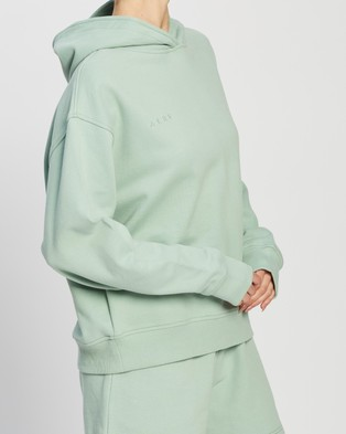 AERE Organic Cotton Comfort Hoodie - Hoodies (Green)