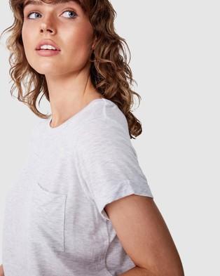 Cotton On - Kathleen Short Sleeve Top - T-Shirts & Singlets (Silver Marle) Kathleen Short Sleeve Top